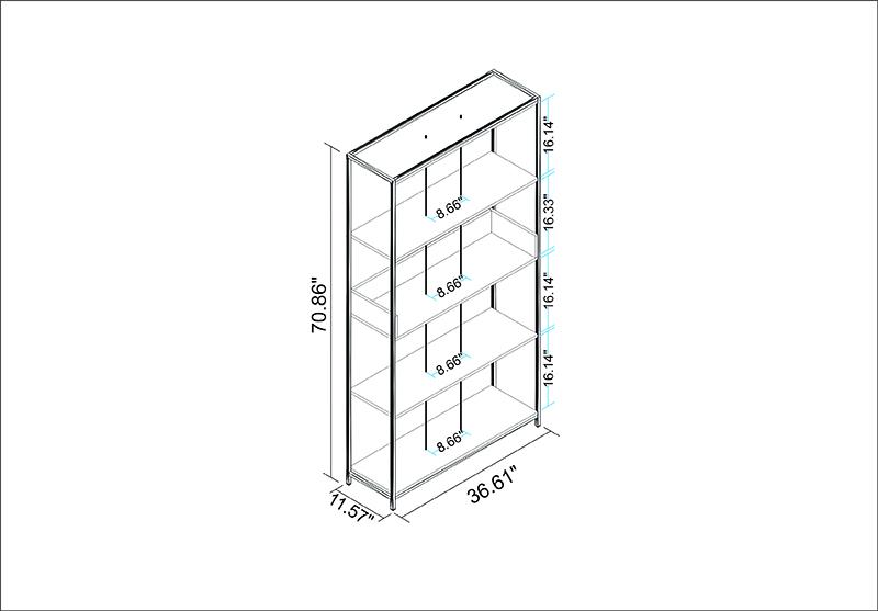 Ellis Bookcase 1.0