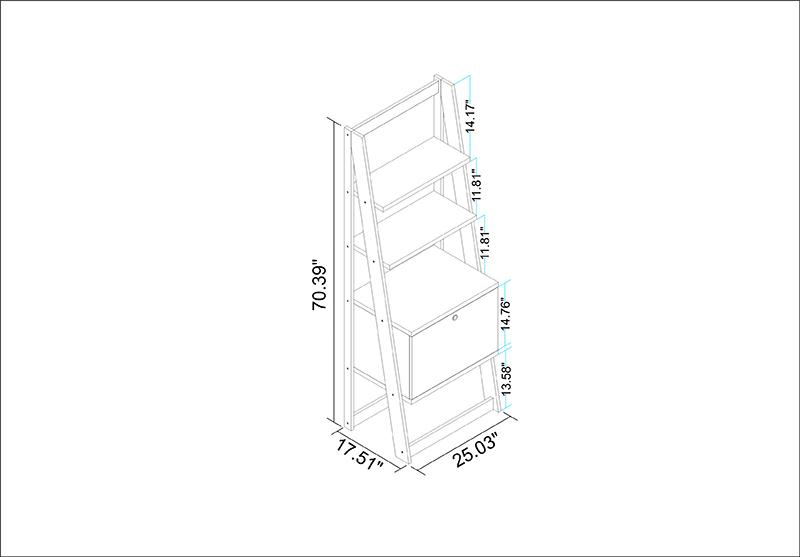 Salvador Ladder Bookcase