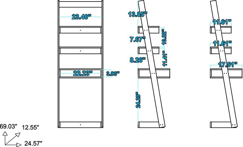 Carpina Ladder Desk