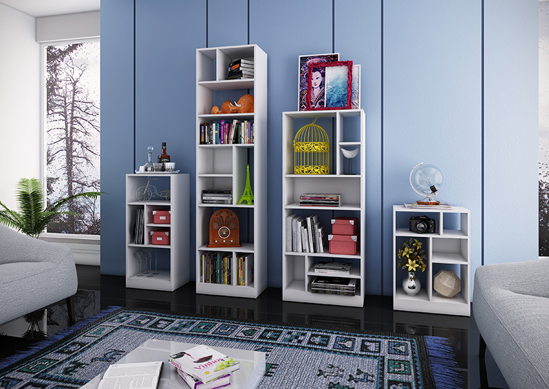 Valenca Bookcase Collection