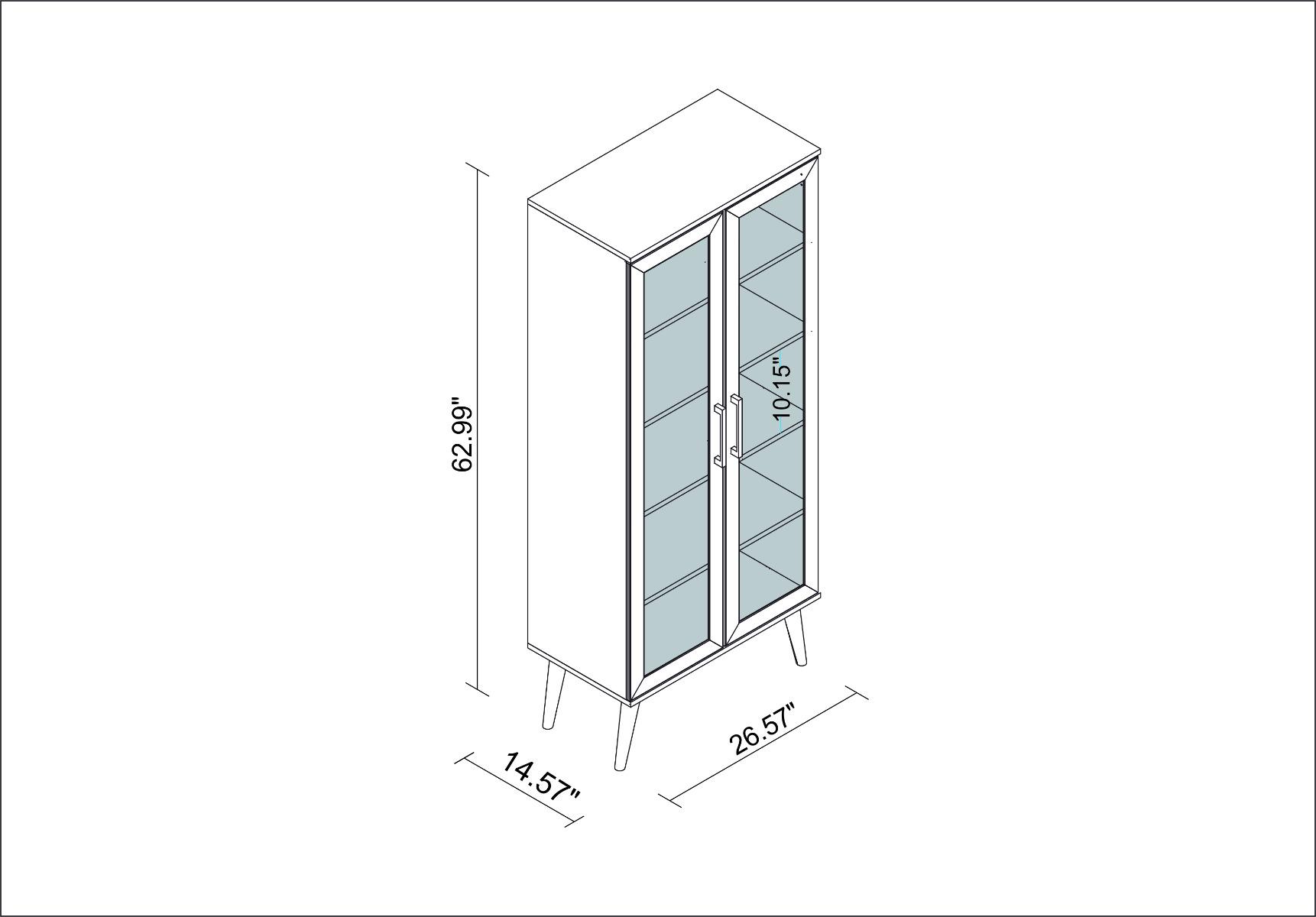 Serra Bookcase 2.0
