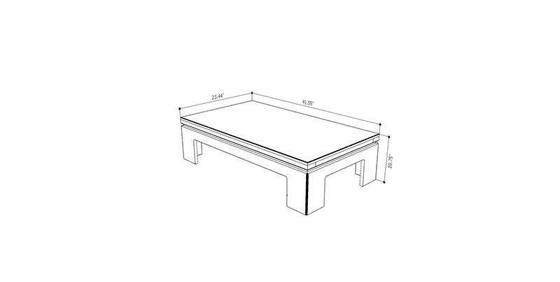 Bridge 2.0 Accent Side Coffee Table